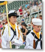 Us Naval Sea Cadet Corps - Gulf Eagle Division, Florida Metal Print