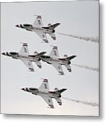 Usaf Thunderbirds Metal Print