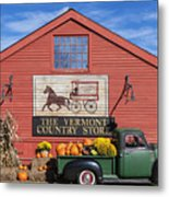 Vermont Country Store Metal Print