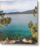 View Across Lake Tahoe Metal Print