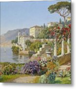 View Of A Lake In The South Metal Print