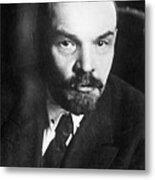 Vladimir Lenin (1870-1924) Metal Print