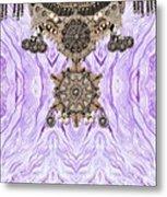 Wave And Jewels Metal Print
