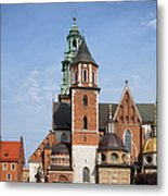 Wawel Cathedral In Krakow Metal Print