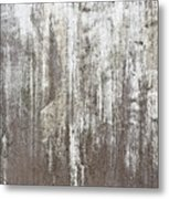 Weathered Metal Metal Print