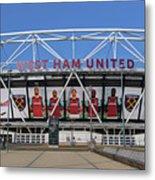 West Ham Fc Stadium London Metal Print