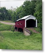 West Union Covered Bridge, Indiana Metal Print