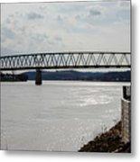 Williamstown Bridge  Metal Print