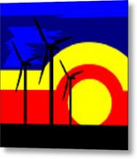 Wind And Sun Metal Print