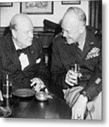 Winston Churchill 1874-1965 Metal Print by Everett