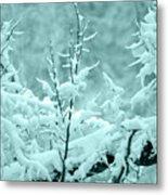 Winter Wonderland In Switzerland Metal Print