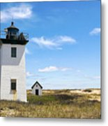 Wood End Lighthouse In Provincetown On Cape Cod Massachusetts Metal Print