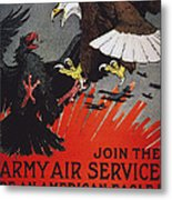 World War I: Air Service Metal Print by Granger