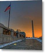 World War II Memorial Sunrise Metal Print