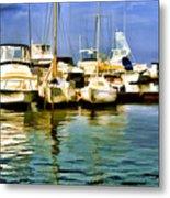 Yacht Club Metal Print