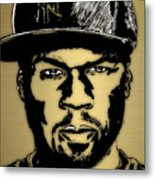 50 Cent Collection Metal Print