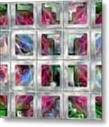 20 Deco Windows Metal Print