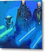 Star Wars Saga Art Metal Print