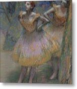 Two Dancers Metal Print