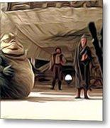 Vintage Star Wars Poster Metal Print