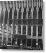 World Trade Center Under Construction 1967 Metal Print