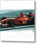 2000 Ferrari F1-2000 Metal Print