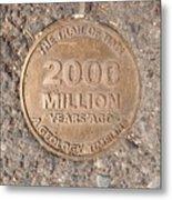 2000 Million Years Ago Metal Print