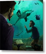 20000 Leagues Under The Sea Metal Print
