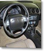 2002 Pontiac Trans Am Dashboard Metal Print