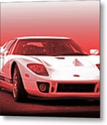 2006 Ford Production Gt Ia Metal Print