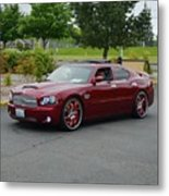 2007 Dodge Charger Couture Metal Print