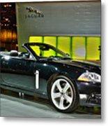 2007 Jaguar Xkr Convertible R No 1 Metal Print