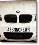 2008 Bmw Grille Emblem -1136s Metal Print