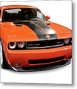 2008 Dodge Challenger Srt Muscle Car Metal Print