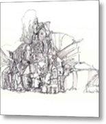 2009-8 Metal Print