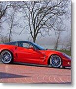 2009 Chevrolet Corvette Zr 1 Metal Print
