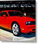 2009 Dodge Challenger Number 2 Metal Print