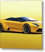 2009 Lamborghini Murcielago Roadster II Metal Print