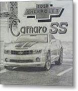 2010 Chevrolet Camaro Ss  Metal Print