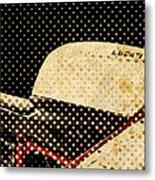 2010 Ducati 1198s Big Newspaper Dots Metal Print
