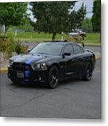 2011 Dodge Charger Rt Lopez Metal Print