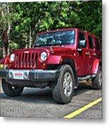 2011 Jeep Wrangler Metal Print