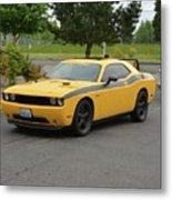 2012 Dodge Challenger Rt Clark Metal Print
