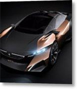 2012 Peugeot Onyx Concept Metal Print