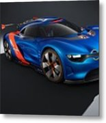 2012 Renault Alpine A110 50  Metal Print