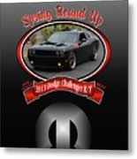 2013 Dodge Challenger Rt Wheeler Metal Print