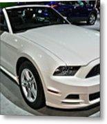 2013 Ford Mustang No 1 Metal Print