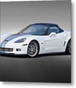 2014 Corvette Zo6 Convertible Metal Print