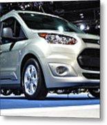 2014 Ford Transit Connect Wagon Metal Print