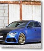 2014 Mr Racing Audi A7 Sportback 3tdi Metal Print